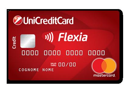 FLEXIA – LA CARTA DI CREDITO DI UNICREDIT  GeekMoney